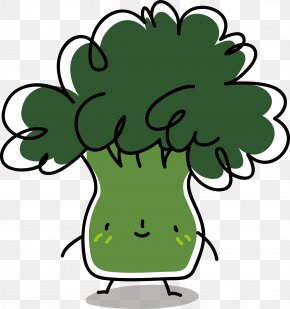 Cartoon Cauliflower - Cauliflower Broccoli Vegetable PNG