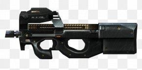 Weapon - CrossFire FN P90 Weapon Firearm Submachine Gun PNG