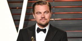 Leonardo Dicaprio - Leonardo DiCaprio Beverly Hills 88th Academy Awards Oscar Party PNG