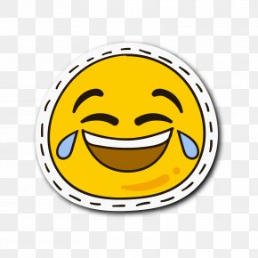 Yellow Round Smile Cry Expression - Android Application Package Smile Expression PNG