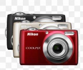Camera - Camera Nikon 12 Mp Zoom Lens Digital SLR PNG