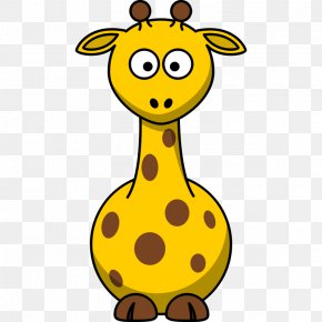 Cartoon Sunshine Pictures - Giraffe Cartoon Clip Art PNG
