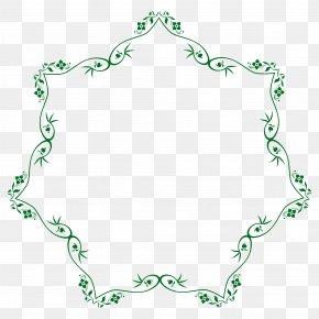 Flower Border - Flower Ornament Clip Art PNG