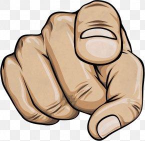 Finger - Index Finger Clip Art PNG