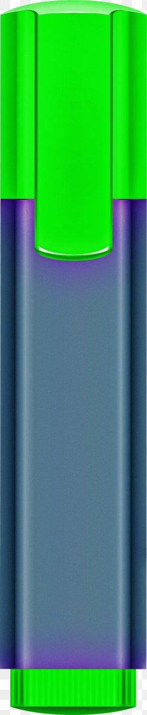 Liquid Electric Blue - Plastic Bottle PNG
