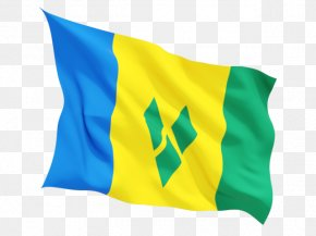 Flag - Flag Of Saint Vincent And The Grenadines Flag Of Saint Kitts And Nevis PNG