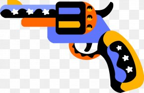 Gun Technology - Gun Cartoon PNG