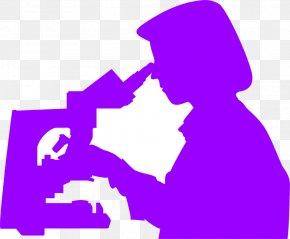Microscope - Microscope Silhouette Clip Art PNG