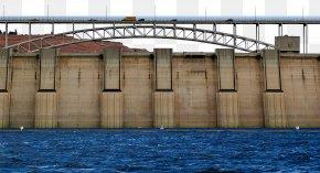 Flood Control Dam Bridge - Dam Building Flood Control Water Resources PNG