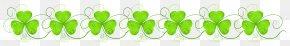 St Patricks Day Shamrock Decoration Transparent Clip Art Image - Product Green Energy Font PNG