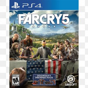 Far Cry 5 Logo - Far Cry 5 Far Cry Primal PlayStation 4 Video Game Ubisoft PNG