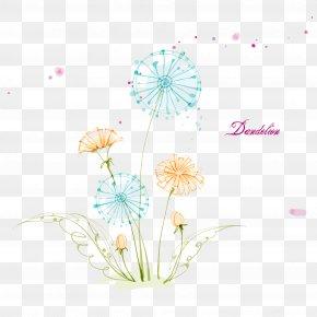Dandelion Floral Design - Dandelion PNG