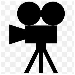 Movie Camera Icon - Photographic Film Movie Camera Video Cameras Clip Art PNG