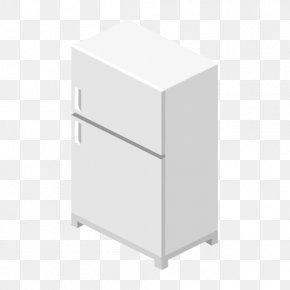 Refrigerator Vector Material - Refrigerator PNG