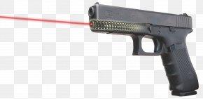 Laser Gun - Glock Ges.m.b.H. Sight Laser GLOCK 17 PNG