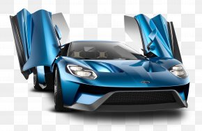 Ford Gt Blue Car - 2017 Ford GT Ford S-Max Car PNG