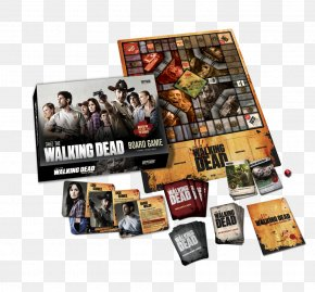 Game Boxes - The Walking Dead Board Game Playing Card AMC PNG