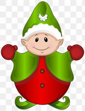 Cute Elf Clipart Image - Santa Claus Christmas Elf Clip Art PNG