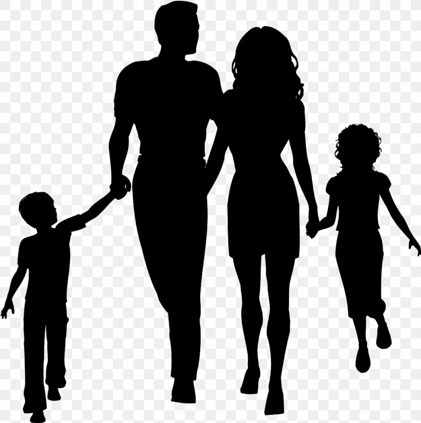Family Silhouette Clip Art Png 1024x1031px Family Black And White Child Family Reunion Human Download Free