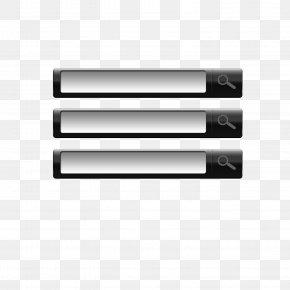 Page Black Box Search - Web Page Web Button Search Box PNG