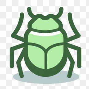 Green Computer Software - Cartoon Computer PNG