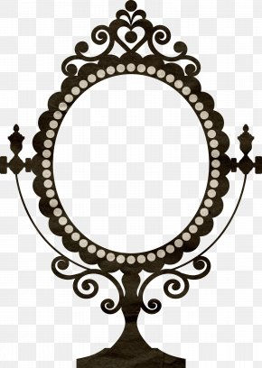 Mirror - Wall Decal Vintage Clothing Mirror Picture Frame Decorative Arts PNG