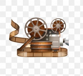 Old Shanghai Classic Camera - Movie Projector Reel Cinema PNG