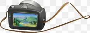 Black Digital Camera - Video Camera PNG