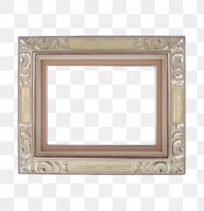 Huang Silver Photo Frame - Picture Frame Digital Photo Frame Yellow Gold PNG