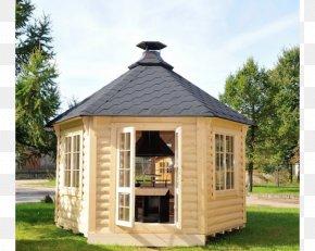 Barbecue - Barbecue Gazebo Pavilion Garden Log Cabin PNG