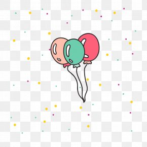 Party Balloons - Birthday Cake Party Clip Art PNG