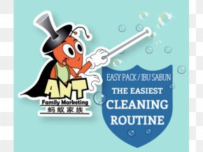 Rumah Kampung - Logo Brand Cleaning Agent Ant PNG