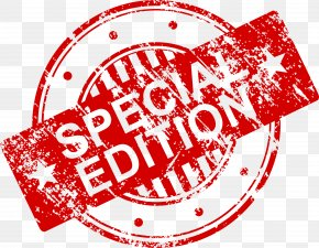 Stamp - Special Edition Clip Art PNG