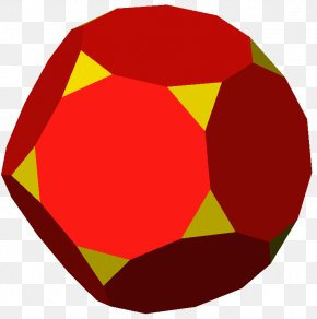 Face - Truncated Dodecahedron Regular Dodecahedron Pentakis Dodecahedron Regular Polyhedron PNG