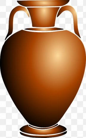 Porcelain Jar - Urn Vase Pottery Of Ancient Greece Clip Art PNG