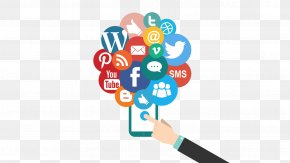 Social Media - Social Media Marketing Digital Marketing Advertising Business PNG