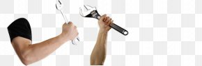 The Arm Holding The Wrench - Wrench Arm Adobe Illustrator PNG
