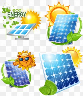 Solar Energy-saving Design - Solar Power Solar Energy Solar Panel Photovoltaics PNG