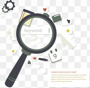 Vector Painted Search - Digital Marketing Search Engine Optimization Web Search Engine Search Engine Marketing Keyword Research PNG