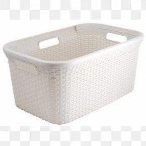 LAUNDRY BASKET - Hamper Laundry Basket Plastic Handle PNG