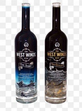 Gin Bottle - Whisky Vodka Distilled Beverage Gin Wine PNG