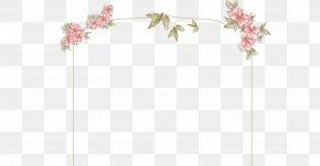 Flower Frame Material - Petal Floral Design Angle Pattern PNG