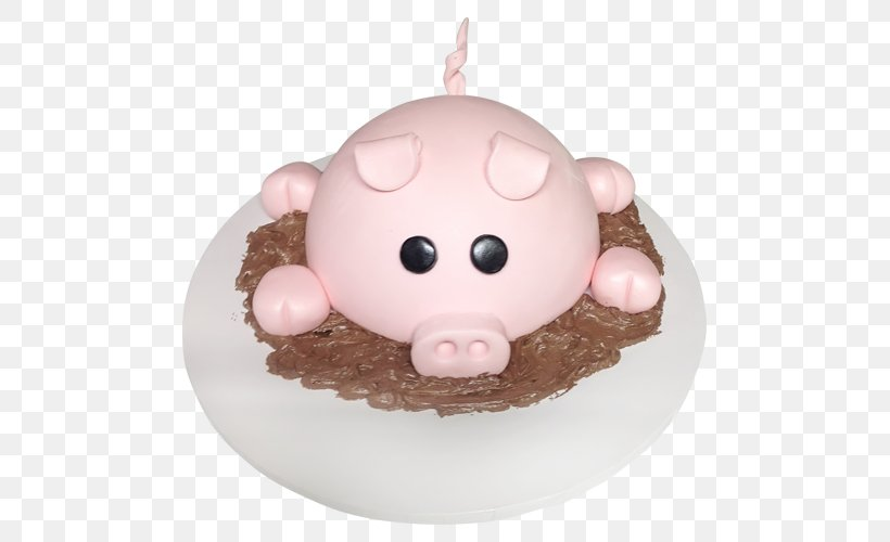Magnificent Pig Cake Decorating Birthday Cake Fondant Icing Png 500X500Px Personalised Birthday Cards Bromeletsinfo