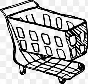 Shopping Cart - Shopping Cart Drawing Clip Art Sketch PNG