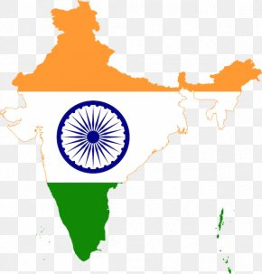 India - Flag Of India Map National Flag PNG