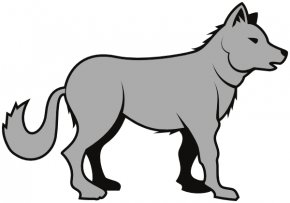 Wolf Cliparts - Gray Wolf Clip Art PNG