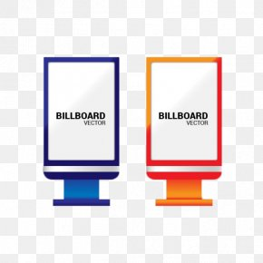 Roadside Billboard Lights Notification Bar - Advertising Billboard PNG