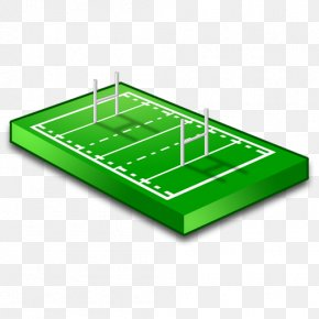 Green Badminton Court - Rugby Football Athletics Field Rugby League Playing Field Football Pitch PNG