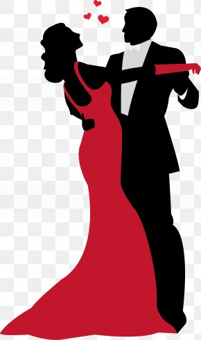 Dancing Cane Cliparts - Ballroom Dance Silhouette Clip Art PNG