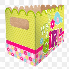Baby Shower - Box Baby Shower Food Gift Baskets PNG